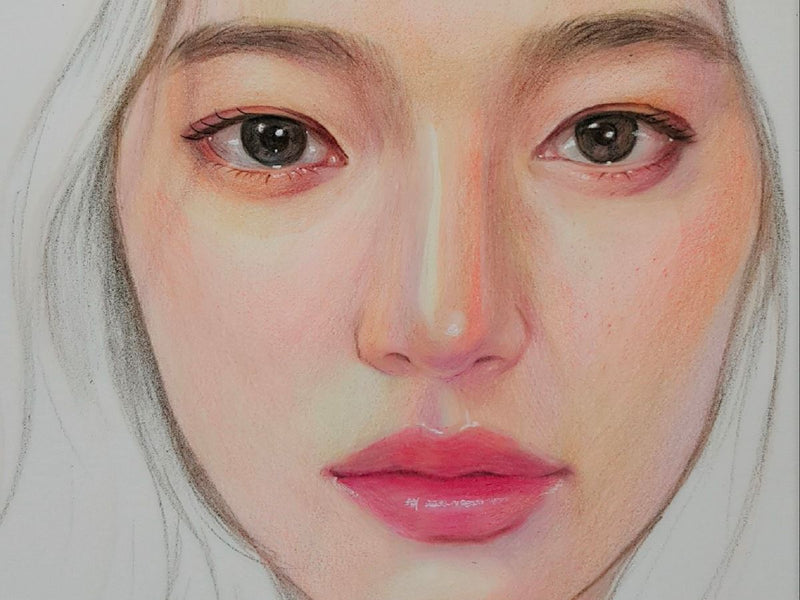 Learn How to Create Impassioned Colored Pencil Portraits Illustration 송블리