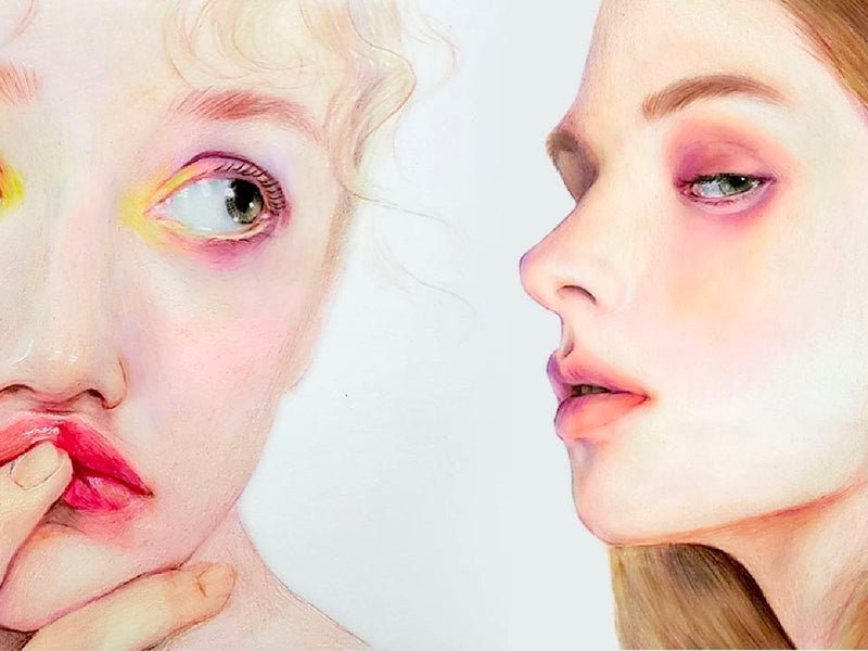 Learn How to Create Impassioned Colored Pencil Portraits Illustration 송블리 Class Access Only