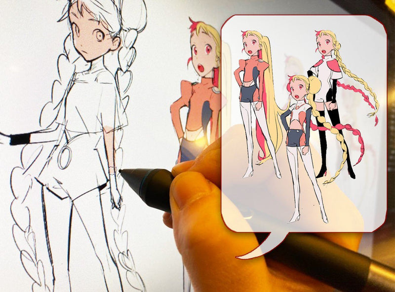 Learn How to Design, Draw, and Edit Your Own Digital Anime World Digital Drawing 규멩