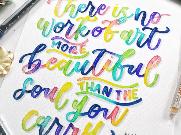 Learn Modern Calligraphy with Liz Illustration Liz