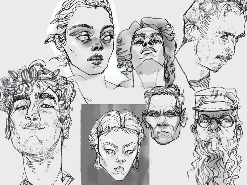 Level Up Your Digital Portraits: Structure, Anatomy, and Stylization Digital Drawing Aisha
