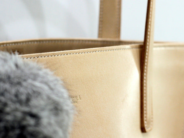 Make Your Own Distinctively Structured Leather Tote Bag Crafts Myura