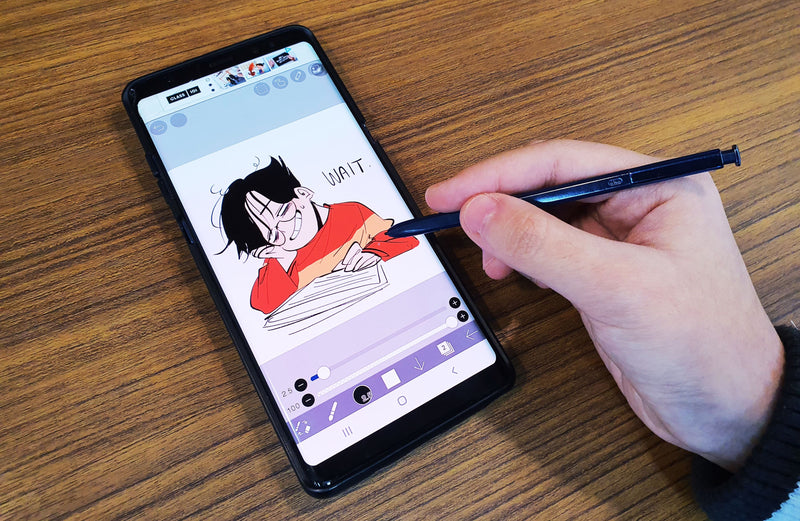 Manga & Anime Drawings: How to Create Characters on Your Phone Digital Drawing 김마웨
