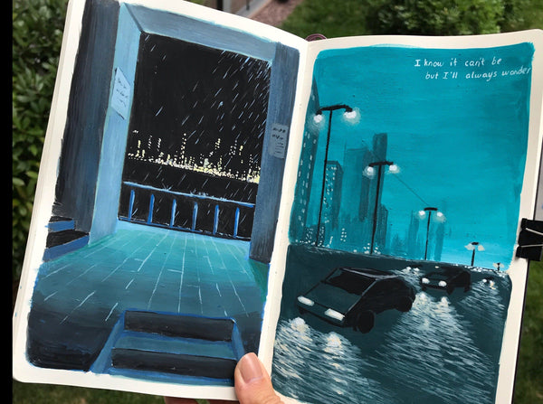 Paint a Visual Journal and Make Every Day Last Illustration Class101