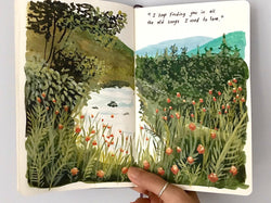 Paint a Visual Journal and Make Every Day Last Illustration Gizem