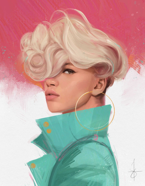 Painting Portraits with an iPad: Digital Drawing Course Using Procreate Digital Art Joshua Esmeralda