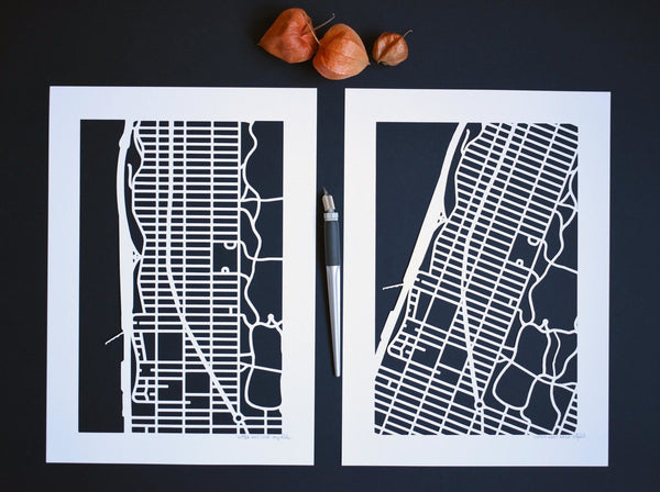 Paper Cut Travel Postcards: Create Your Own Map Art Crafts Kip Perdue
