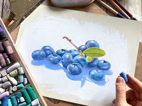Pastel Painting: Draw Delicious and Fun Subjects Illustration Natalia Savostina