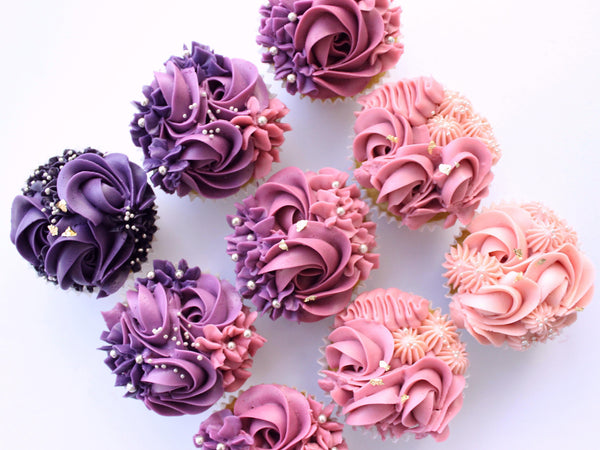 Pipe Beautiful Floral Cupcakes with Bakeree Life Style Bakeree by Eelynn Yong