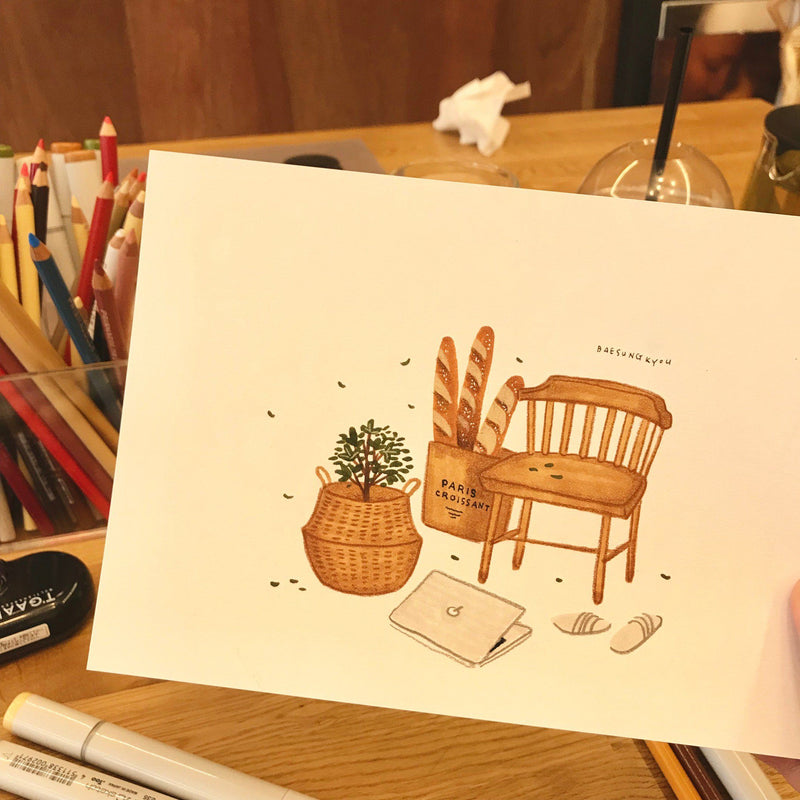 The Beginner's Guide to Art: Drawing with Markers and Colored Pencils Illustration 배성규 1차