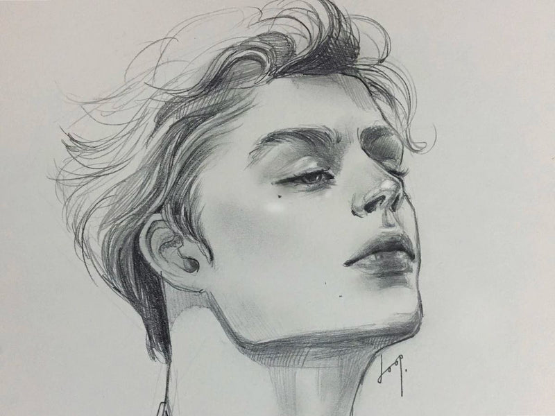 The Ultimate Portrait Drawing Course - Beginner to Advanced Illustration 둡 1차