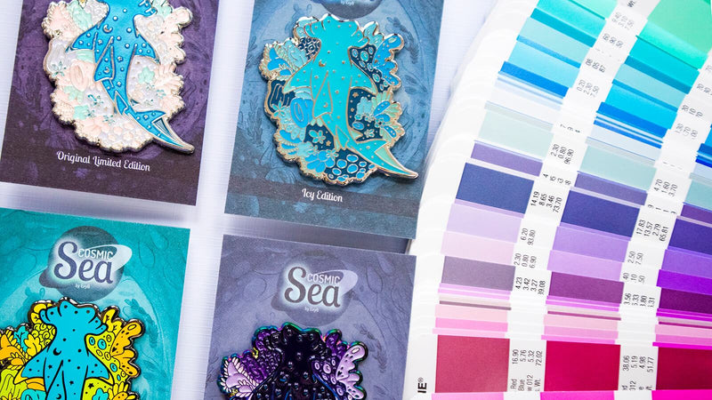 Transform Your Original Art into a Thriving Enamel Pin Shop with Evy Benita Illustration Evy Benita
