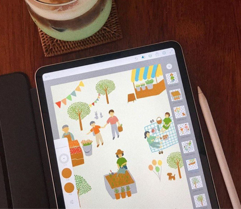 Your Artistic Journey Starts Here: A Beginner's Guide to Digital Drawing on an iPad Digital Drawing 수수진