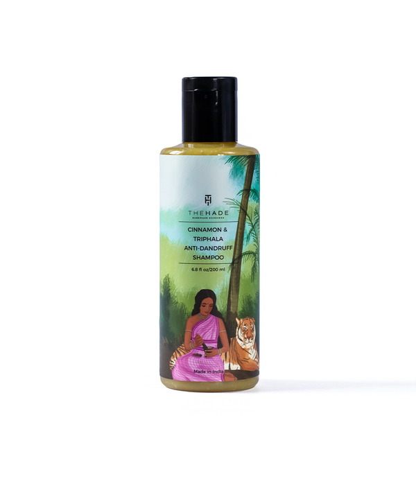 Cinnamon and Triphala Anti Dandruff Shampoo