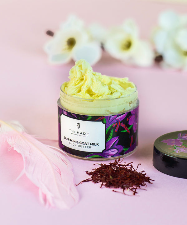 Saffron and Goat Milk Body Butter