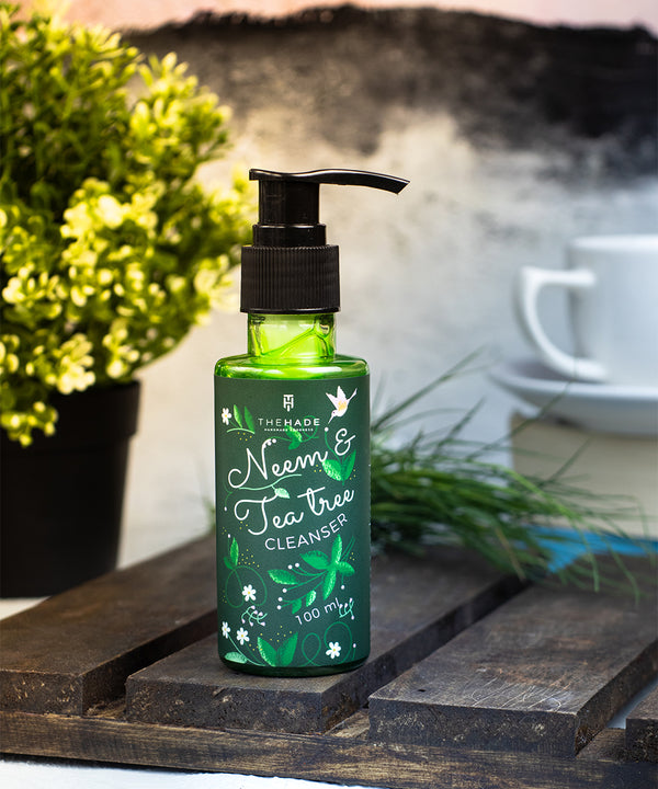 Neem and Tea Tree Facial Cleanser