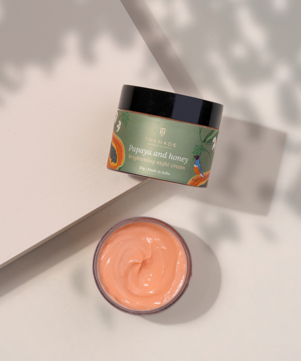 Papaya and Honey Brightening Night Cream