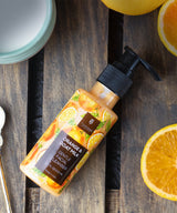 Orange and Goat Milk Facial Cleanser