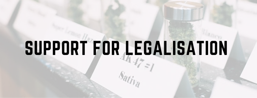 Is Support For Legalisation Waning?