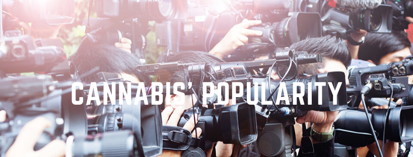 coverage of cannabis' popularity