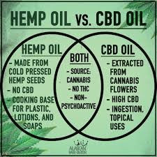 Hemp oil vs CBD oil.