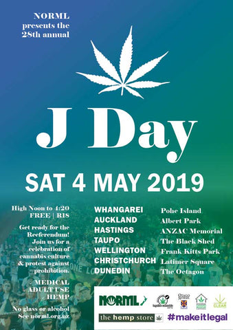 J-Day Poster by NORML