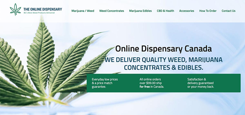 online dispensary in Canada