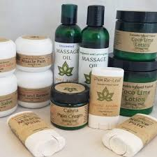 A Variety of Topical Cannabis Preparations.