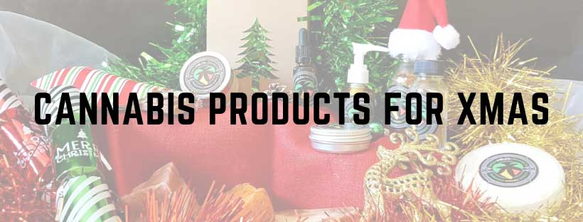 cannabis products for Christmas