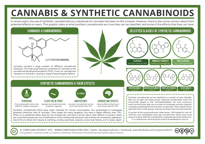 difference between synthetic cannabis and cannabis