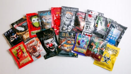 Variants of synthetic cannabis