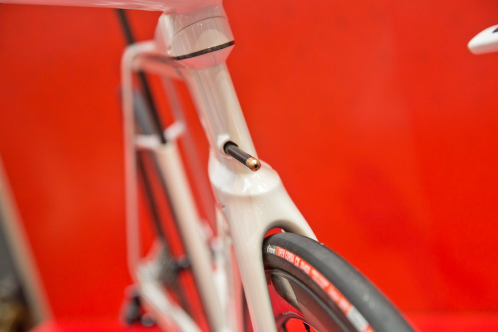 The concept Argon 18 smart bike wind sensor spotted last year