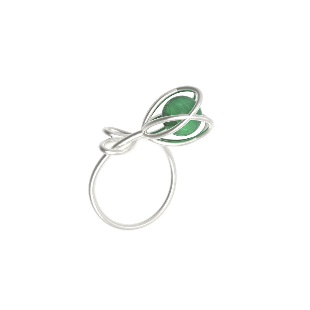 Flora Ring - Green Aventurine