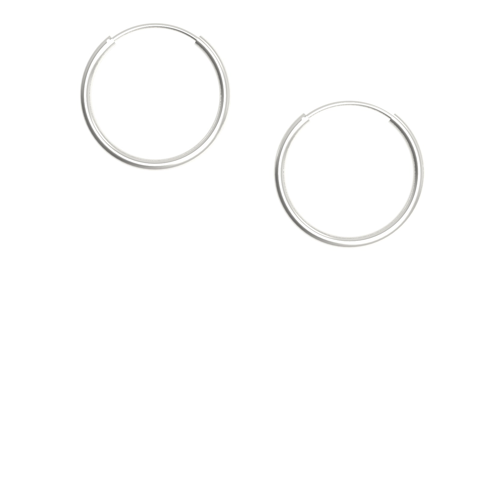 Aera Simple Hoops