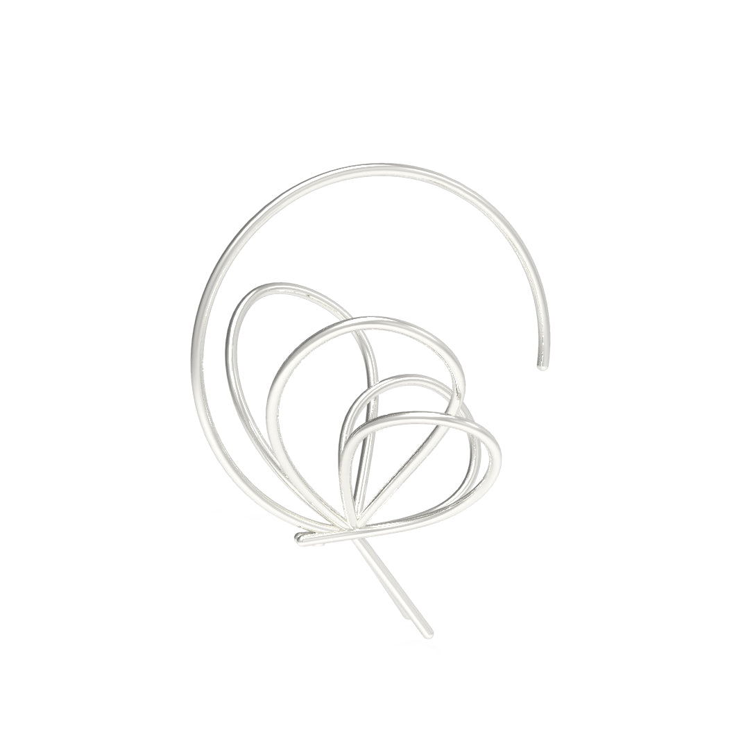 Aera Single Hoop Earring