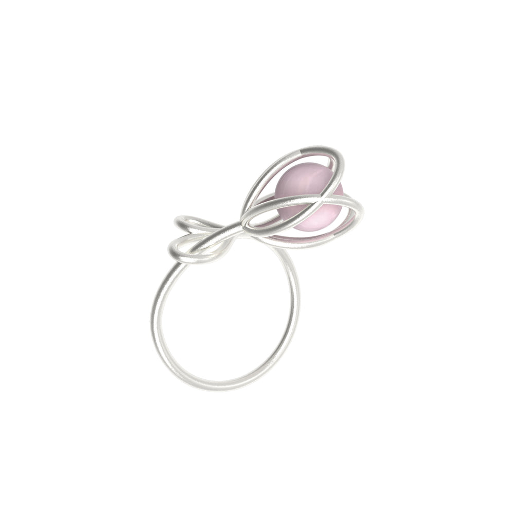 Flora Ring <br> Rose Quartz