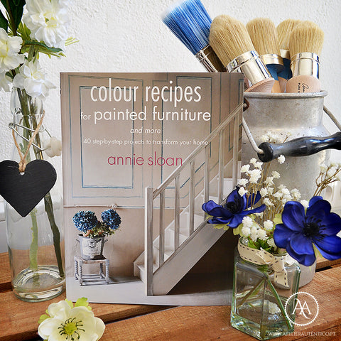 "Livro "" Colour Recipes"" - Annie Sloan"