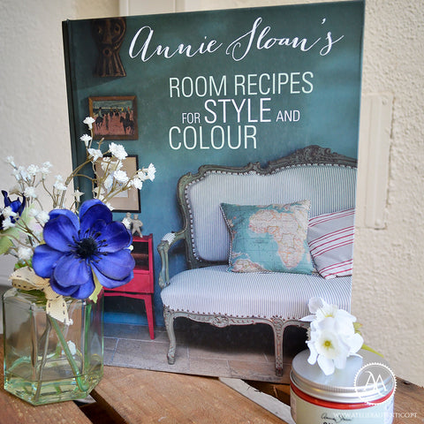 "Livro ""Annie Sloan Room Recipes"""
