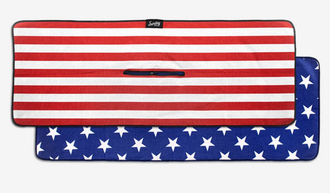 Stars and Striped Golf Towel by Sunday Golf