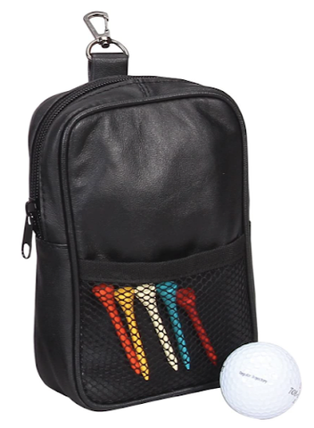 Bellino Leather Golf Pouch