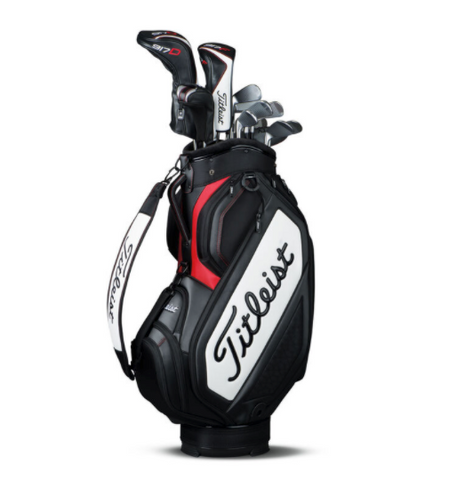 how to organize your golf bag with staff/cart bag