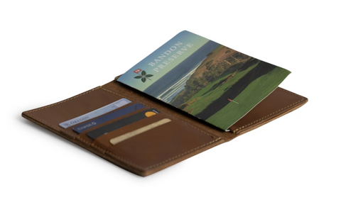 golf wallet and score card holder