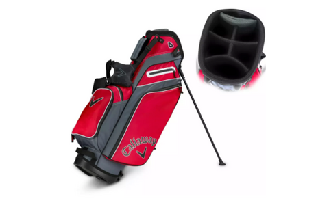 how to organize your golf bag with a carry/stand bag