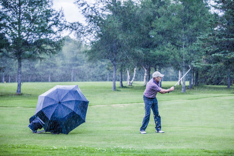 keep your clubs safe from the rain