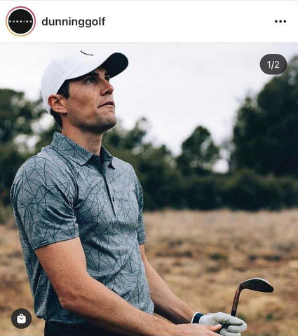 golfer clothing by Dunning