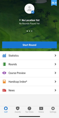 apps for golfers: golf shot