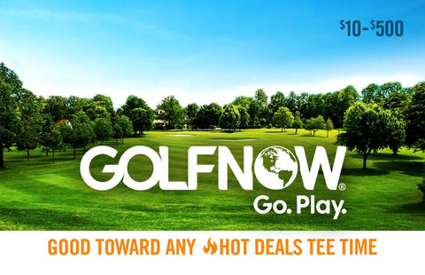 Golfnow gift card