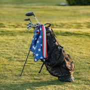 Stars and Striped Golf Towel