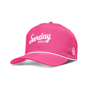 Sunday Golf Rope Hat | PINK