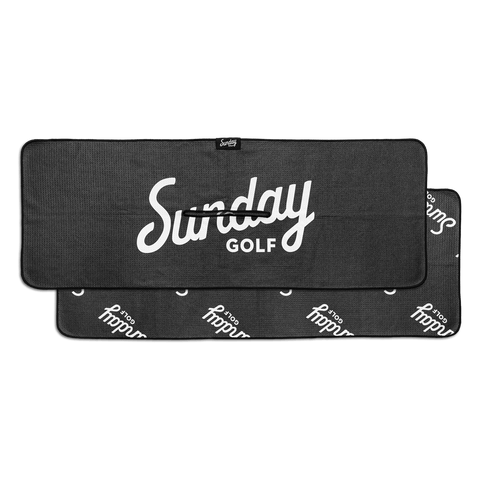 Sunday Golf Towel